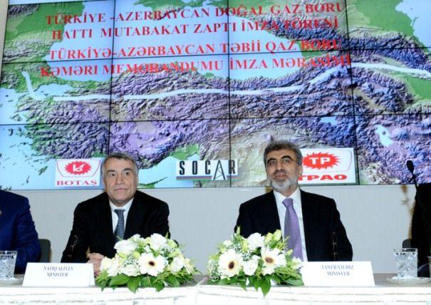 Συμφωνία Τουρκίας-Αζερμπαϊτζάν για τον αγωγό Trans Anadolu