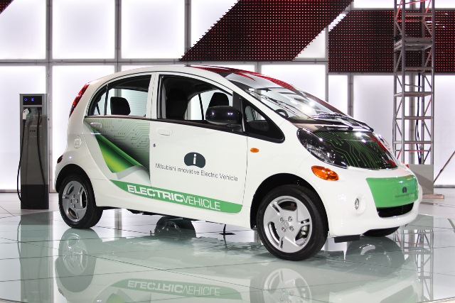 Mitsubishi i electric car