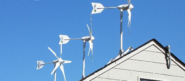 roof wind turbine