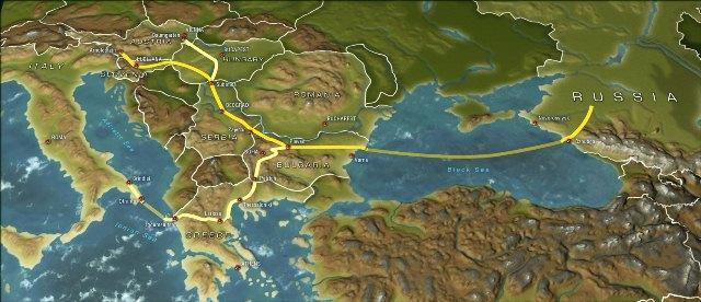 Τέλη του 2012 ο South Stream