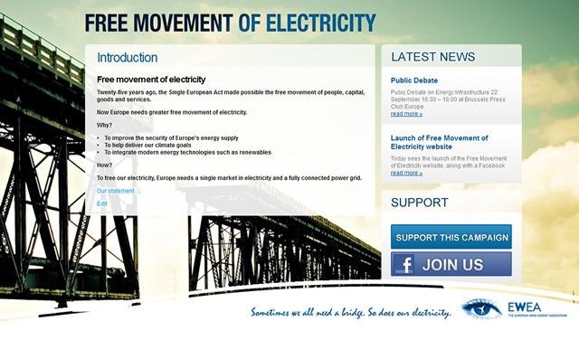 Καμπάνια Free Movement of Electricity