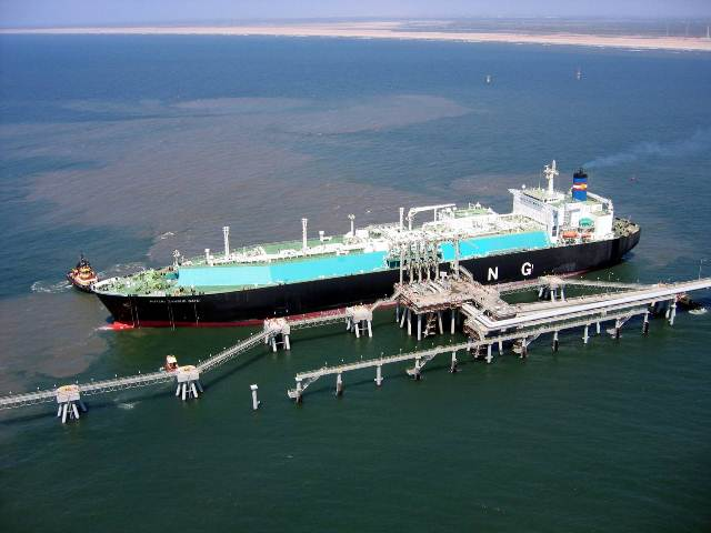 LNG harbour