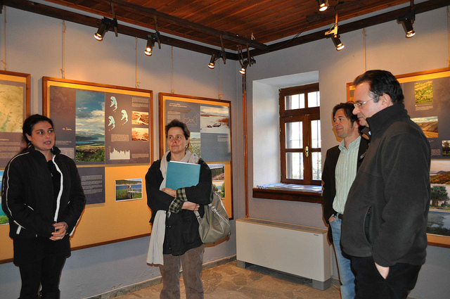 """Επίσκεψη Παπακωνσταντίνου στον """"Αρκτούρο"""""""