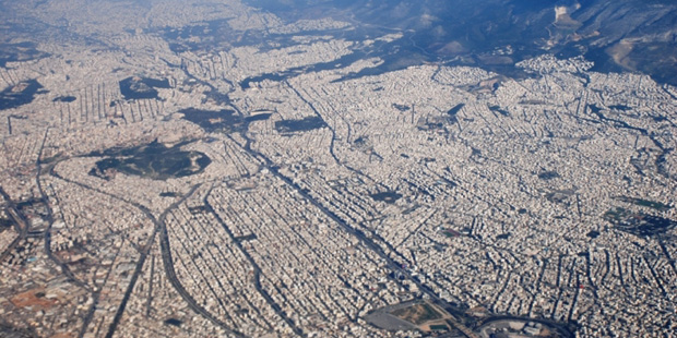 Athens-airphoto