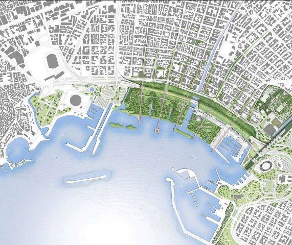Αρχιτεκτονικός διαγωνισμός για τον Φαληρικό Όρμο