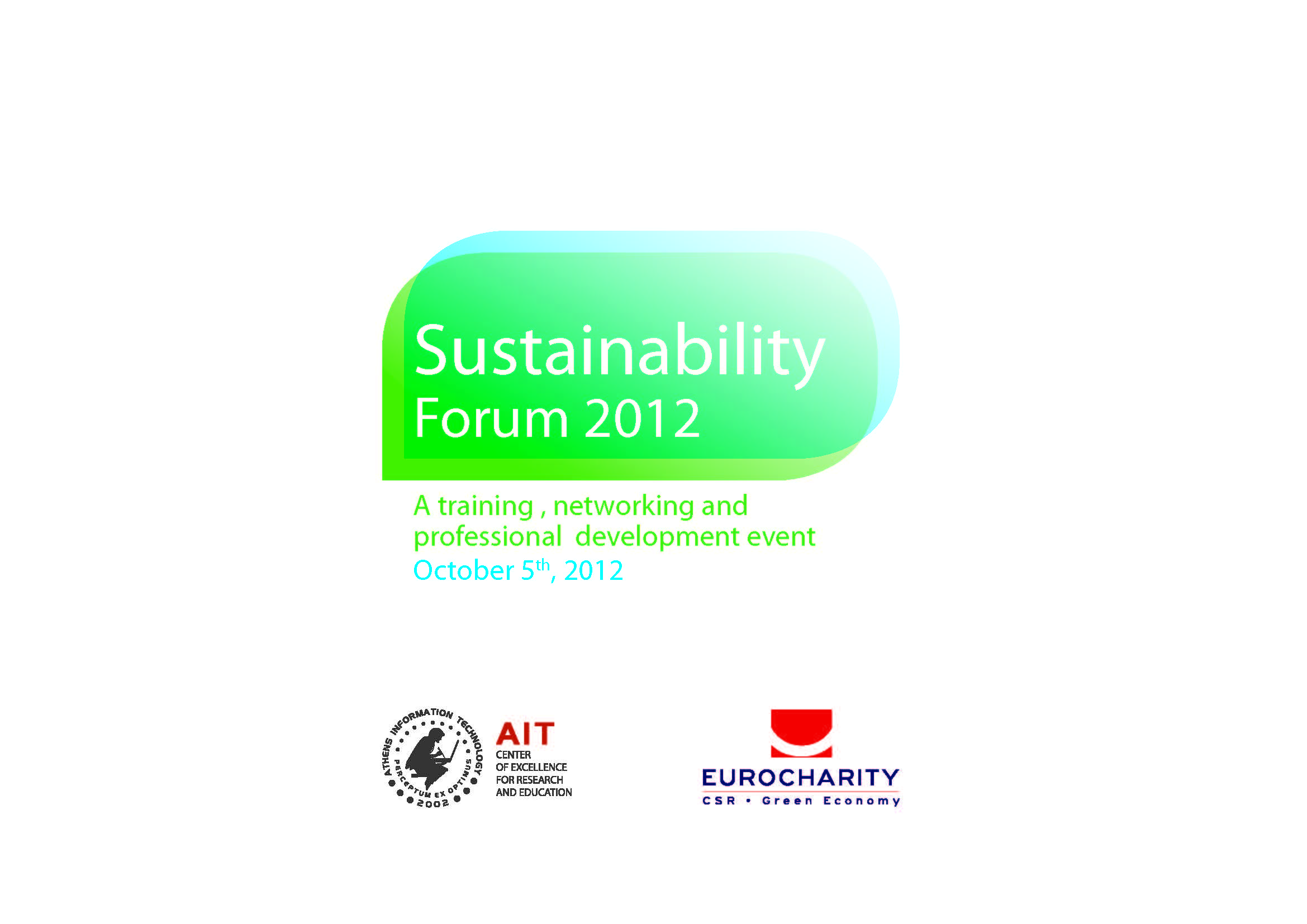 Sustainability Forum 2012