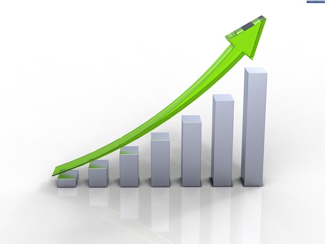 green-business-graph