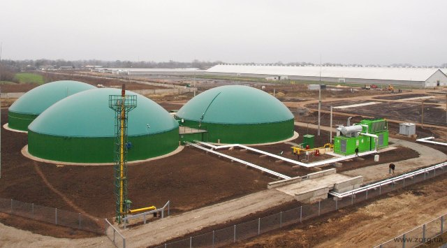 Σταθμός βιοαερίου στην Κροατία