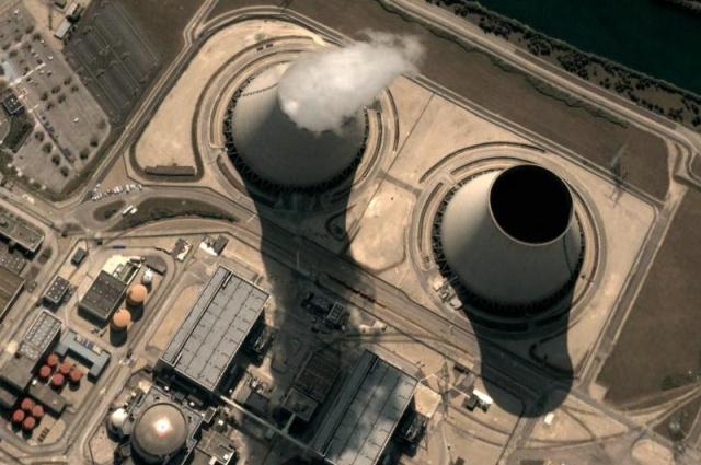 NuclearReactorWithSmoke