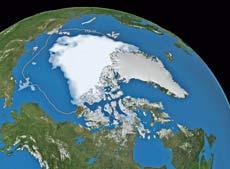 Μείωση θαλάσσιων πάγων του Αρκτικού Ωκεανού