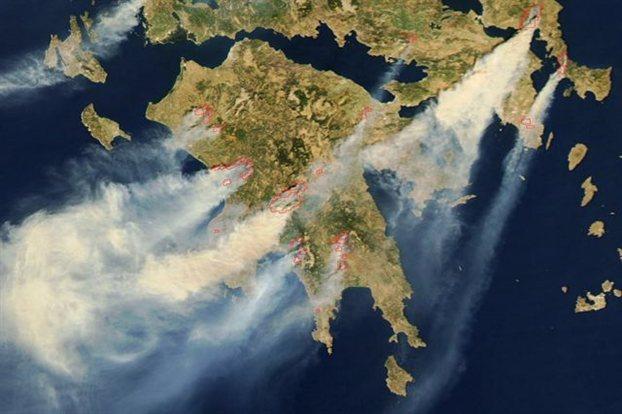 Online παρακολούθηση δασικών πυρκαγιών