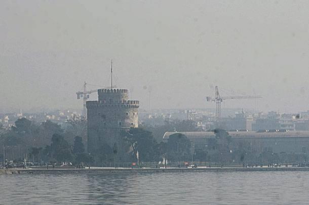 Η Θεσσαλονίκη ανησυχεί για τις υψηλές τιμές όζοντος