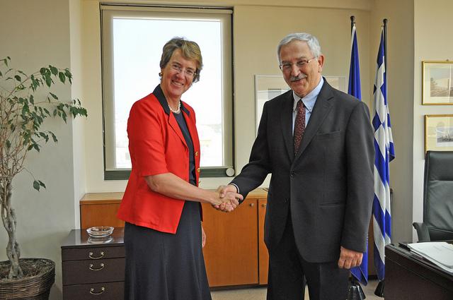 Συνάντηση Λιβιεράτου-Πρέσβειρας της Αυστρίας