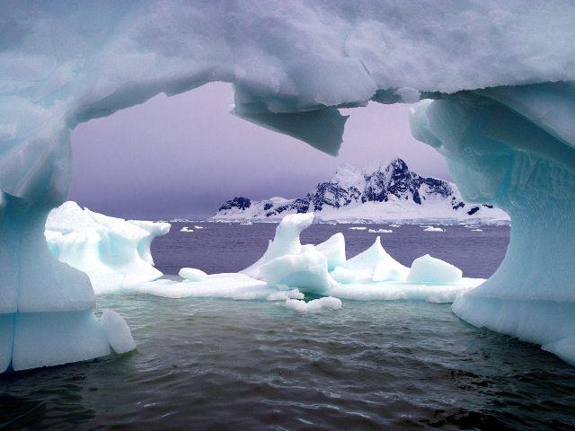 Χάρτης της Ανταρκτικής σε 3D