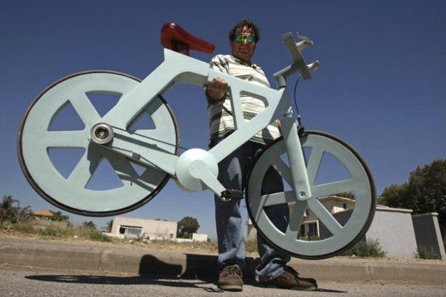 Ποδήλατο από ανακυκλωμένα υλικά