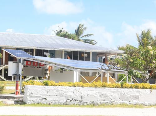 Η SMA στη νήσο Τοκελάου