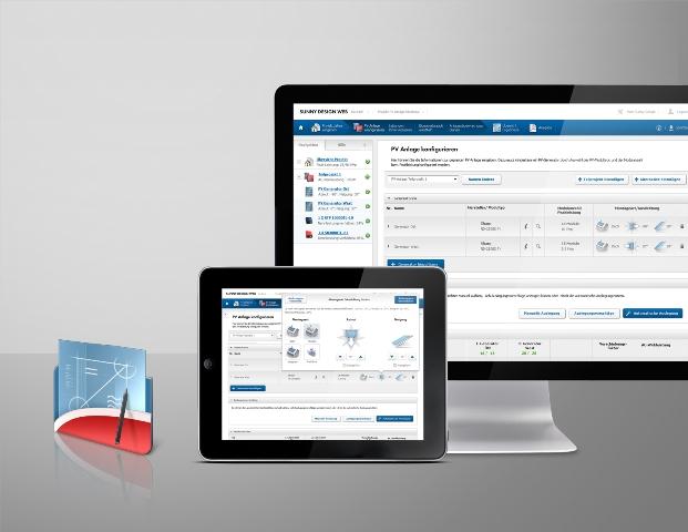 Online σχεδιασμός φωτοβολταϊκών εγκαταστάσεων Sunny Design