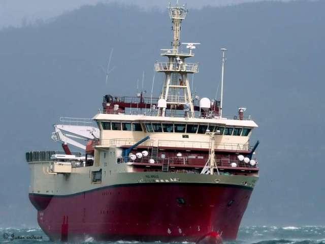 Επίσκεψη Λιβιεράτου στο ερευνητικό σκάφος της PGS