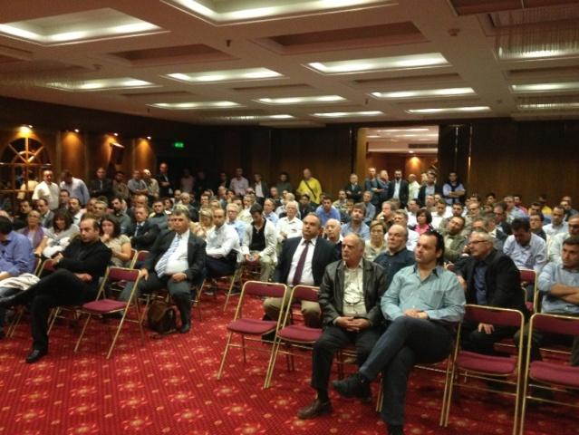 Μεγάλη προσέλευση στην έκτακτη Γενική Συνέλευση του ΣΠΕΦ