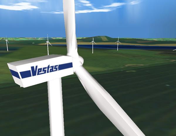 Έργα της Vestas στη Νότια Αφρική