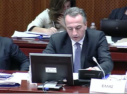 Ο Στ.Καλαφάτης στο Συμβούλιο Υπουργών Περιβάλλοντος της Ε.Ε.
