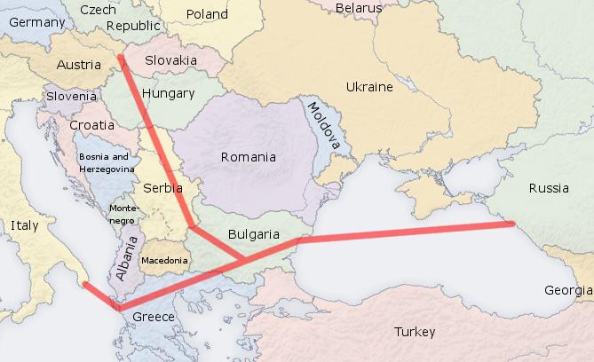 Έναρξη κατασκευής South Stream