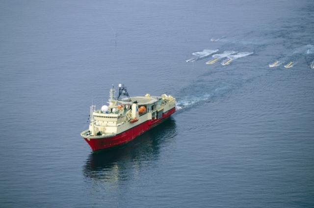 Τo πλοίο της PGS στην Κρήτη