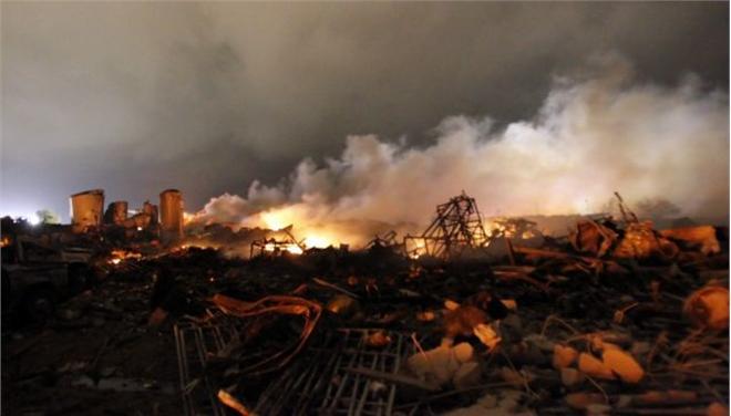 Περιβαλλοντικές συνέπειες από την έκρηξη στο Τέξας