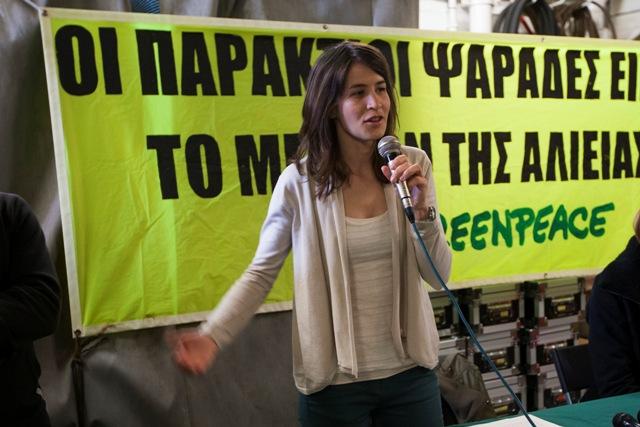 Η Greenpeace για τη βιώσιμη αλιεία