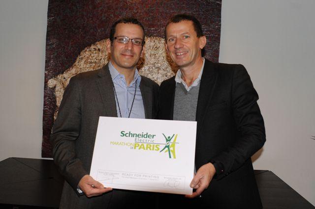 Η Schneider Electric γίνεται ο πρώτος χορηγός τίτλου του Μαραθωνίου του Παρισιού