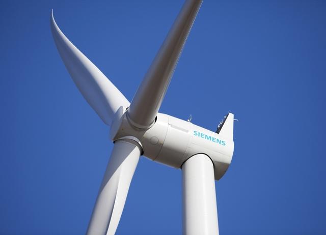 Μεγάλες μονάδες δοκιμών ανεμογεννητριών από τη Siemens