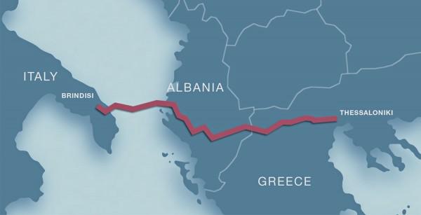 Τριμερής Επιτροπή Συνεργασίας για την υποστήριξη του Trans Adriatic Pipeline