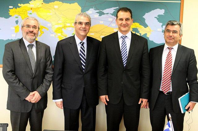 Συναντήσεις ΥΠΕΚΑ με τον Κύπριο Υπουργό Ενέργειας
