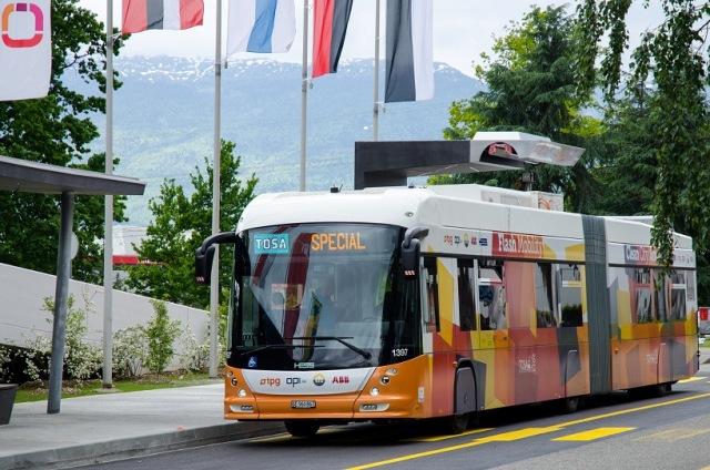 Το καινοτόμο ηλεκτρικό λεωφορείο της ΑΒΒ
