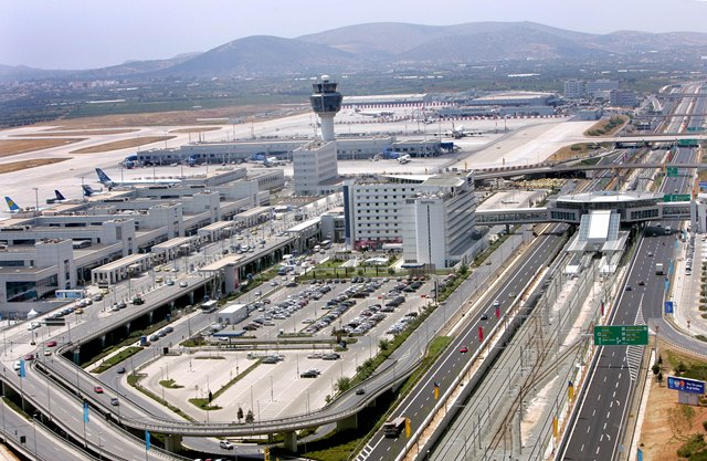 Πρωτιά για τον Διεθνή Αερολιμένα Αθηνών