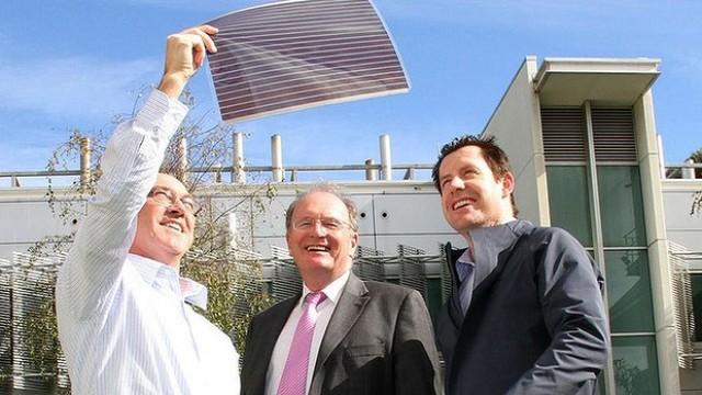 Εκτύπωση φωτοβολταϊκών σε χαρτί