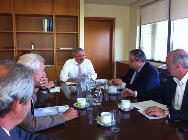 Συνάντηση ΥΠΕΚΑ με το Προεδρείο του ΣΕΒ