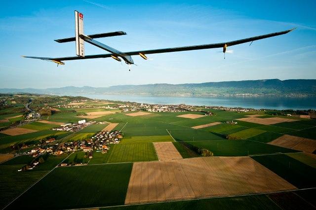 Το Solar Impulse στα Ηνωμένα Έθνη