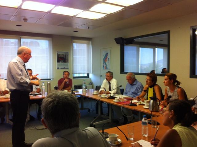 Σύσκεψη για τις υπεράκτιες εξορύξεις