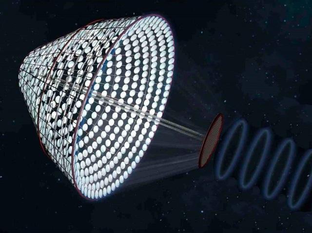 Δορυφόρος καλυμμένος με φωτοβολταϊκά