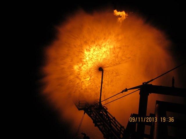 Οι πρώτες εικόνες από το άναμμα της φλόγας