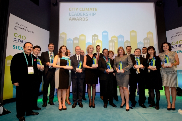 "Τα πρώτα ""City Climate Leadership Awards"""