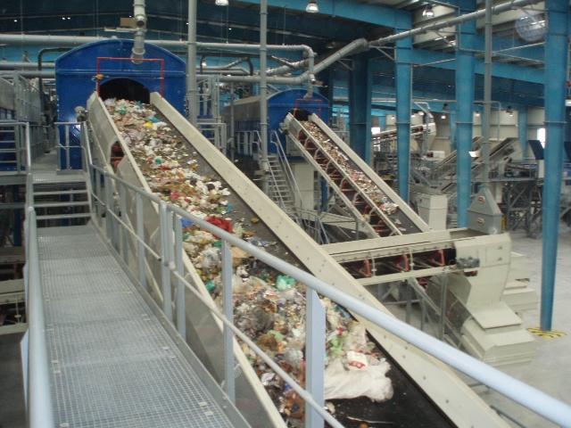 Μονάδα Επεξεργασίας Απορριμμάτων στην βορειοανατολική Αττική