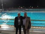 Φωτό 2 (Λεζ. Ο Δήμαρχος Ήλιδας κύριος Γιάννης Λυμπέρης με τον Διευθυντή Δημοσίων  Σχέσεων και Επικοινωνίας της SOLE AE, κύριο Χρήστο Κουστιμπή)