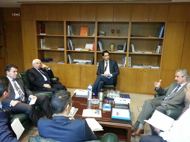 Συνάντηση Μανιάτη-Αζέρων