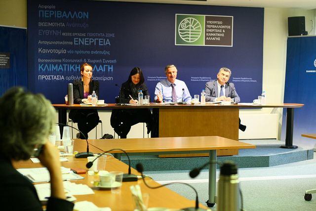 Συνάντηση με Γαλλικές Ενώσεις Επιχειρήσεων και Βιομηχανιών