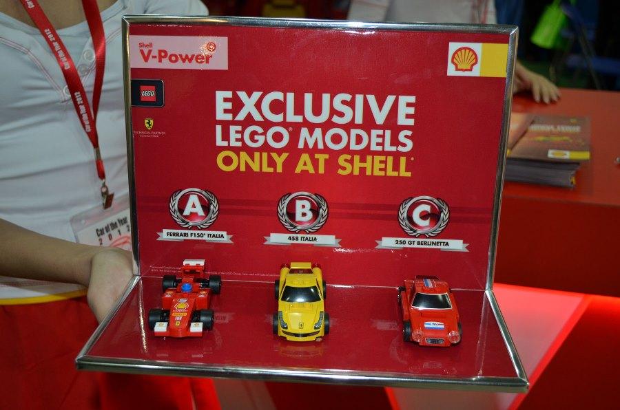 Προωθητική ενέργεια της Shell σε συνεργασία με Ferrari και LEGO