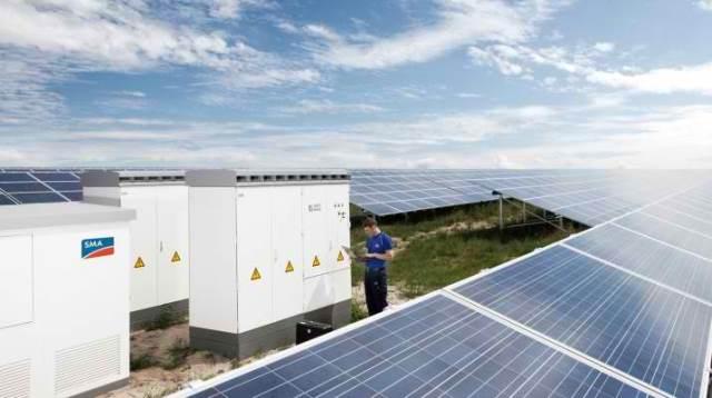 sma biggest solar park
