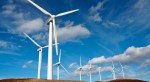 Wind turbines farm