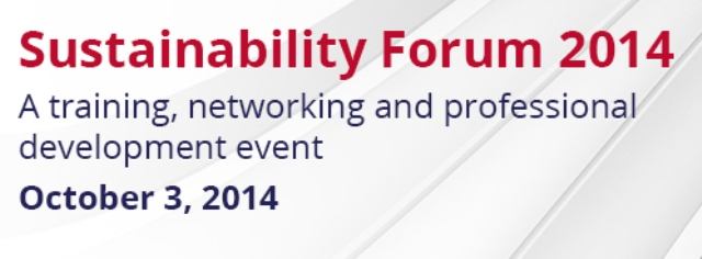 sustainability forum 2014
